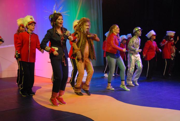 In de musical neemt het danselement een redelijk prominente plaats in