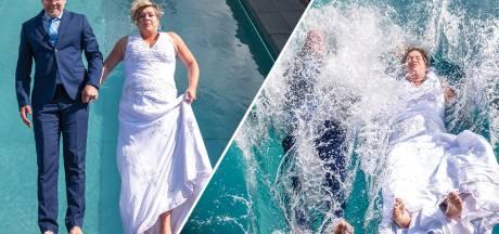 Bruiloft in het water? Deze Twentse tortelduifjes trouwen dit jaar alsnog: 'Wachten geen optie'