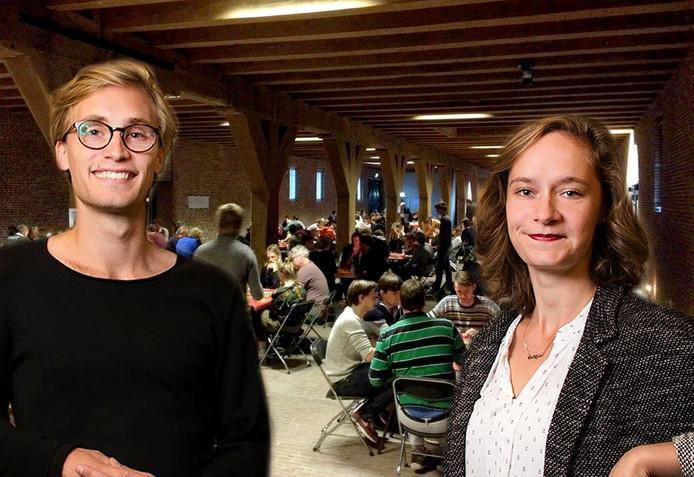 Tara en Jouri uit Breda organiseren NK Risk Foto(montage) Janus van den Eijnden