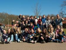 Wingerd-leerlingen bakken pannenkoeken voor De Lathmer