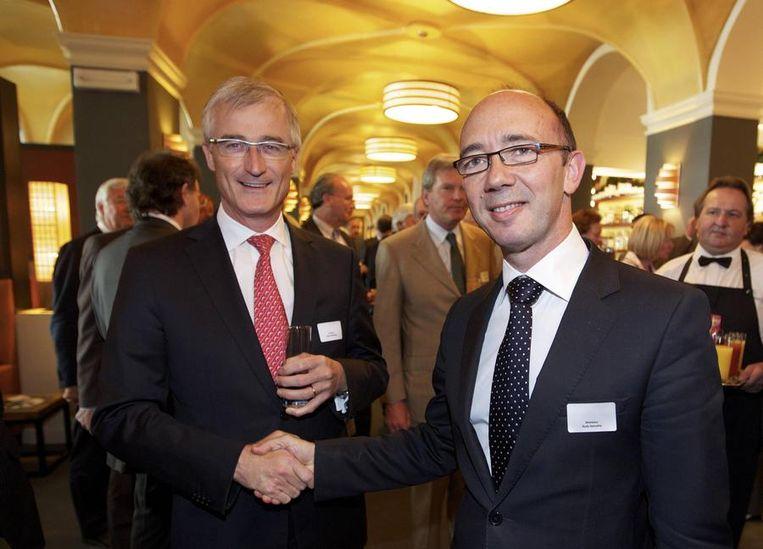 Geert Bourgeois en Rudy Demotte.