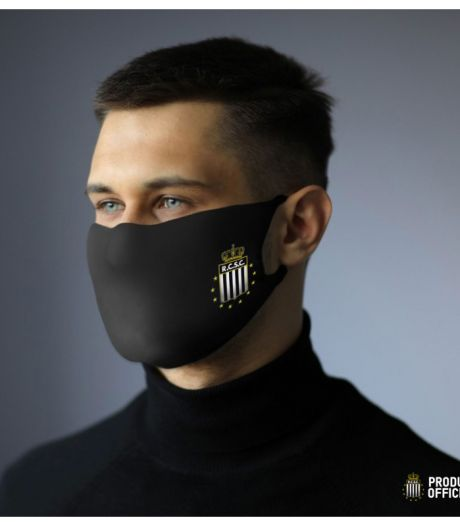 Le Sporting de Charleroi propose enfin des masques à son emblème