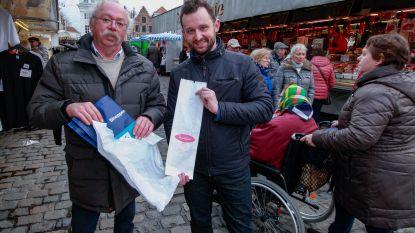 """Marktkramers: """"Geen plastic zakjes meer? We steunen!"""""""