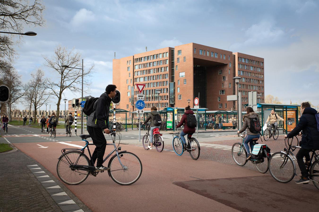 De campus van Wageningen.