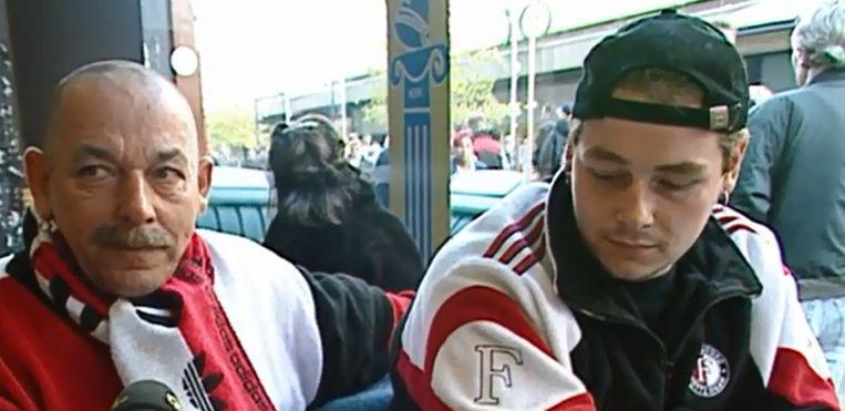 Feyenoorfans in 1997 Beeld screenshot