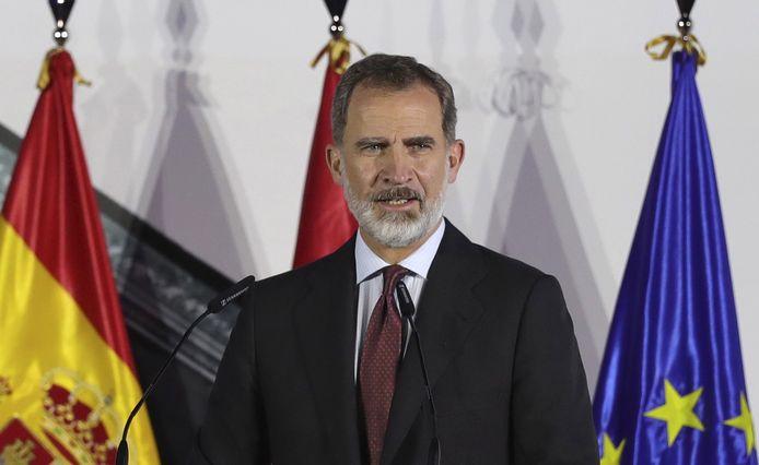 De Spaanse koning Felipe