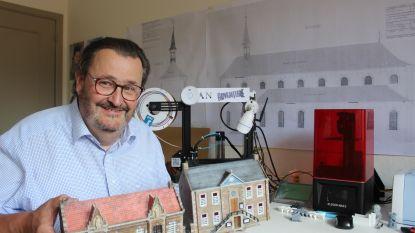 Modelbouwliefhebber bouwt Zonhoven uit 1900 na met 3D-printer