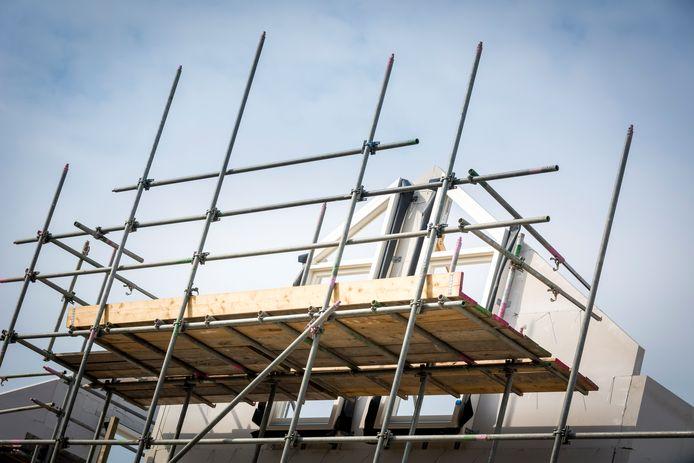 PIJNACKER - Door de economische groei worden er steeds meer huizen gebouwd. ANP XTRA LEX VAN LIESHOUT