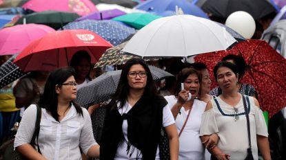 Tyfoon Yutu bereikt Filipijnen: duizenden op de vlucht