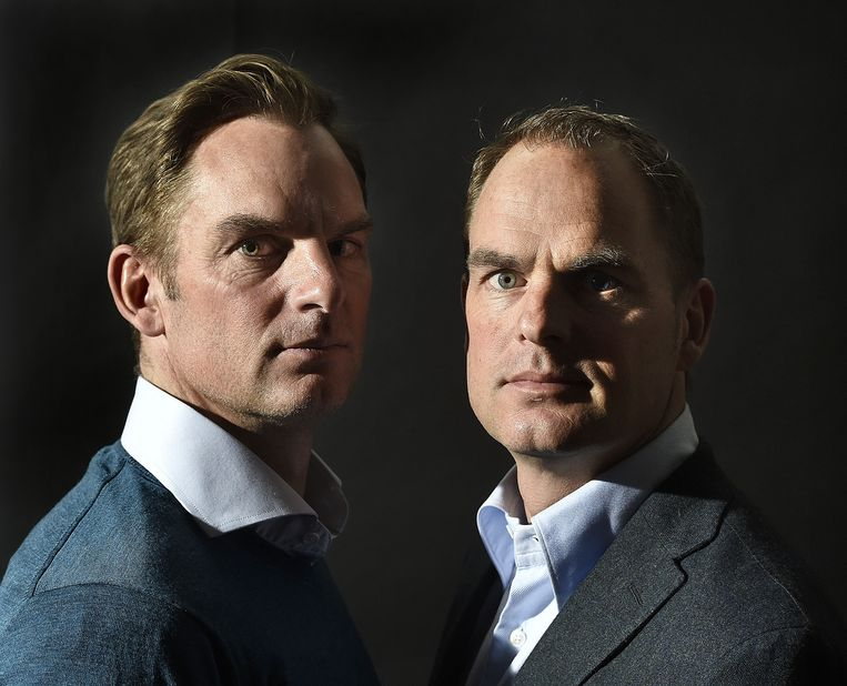 195ee863649 ... Ronald (links) en Frank de Boer. Vroeger was het lastig ze uit elkaar  te houden. Het verschil is tegenwoordig wel zichtbaar. Beeld Guus Dubbelman  / de ...