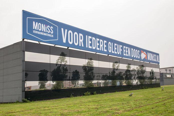 Bijzondere leus op gevel verpakkingsbedrijf Lelystad