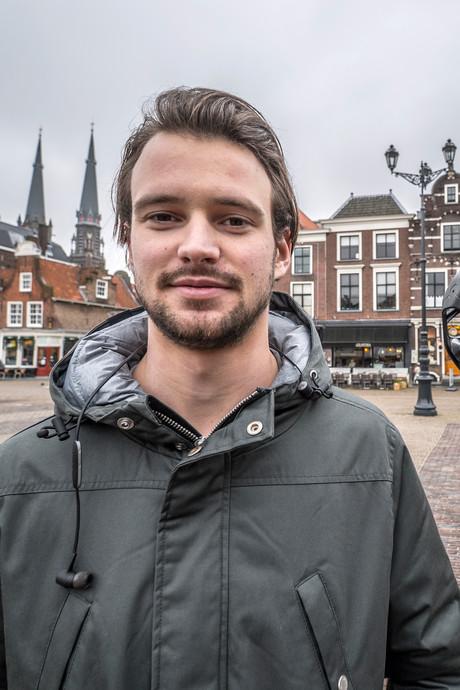 Met vr-bril op waan je je op de Delftse Markt