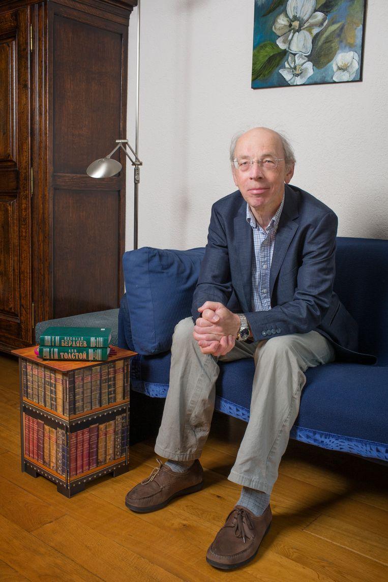 Wil van den Bercken (1946) is schrijver en voormalig bijzonder hoogleraar Ruslandkunde. Beeld Jorgen Caris