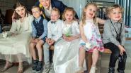 IN BEELD. Liefde bij kinderopvang 't Bondgenootje: drie piepjonge koppels treden in het huwelijk