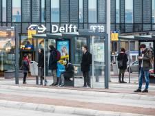 Reizigers opgelet: treinen rijden drie dagen niet tussen Delft en Den Haag