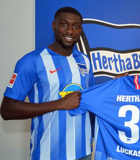 Derrick Luckassen maakt met remise basisdebuut bij Hertha BSC