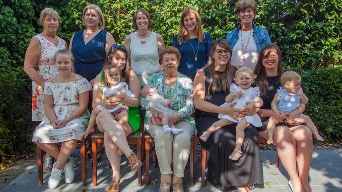 Vijfvoudig viergeslacht in de familie Lanckriet
