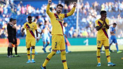 Barcelona boekt op veld van Getafe eerste uitzege van het seizoen