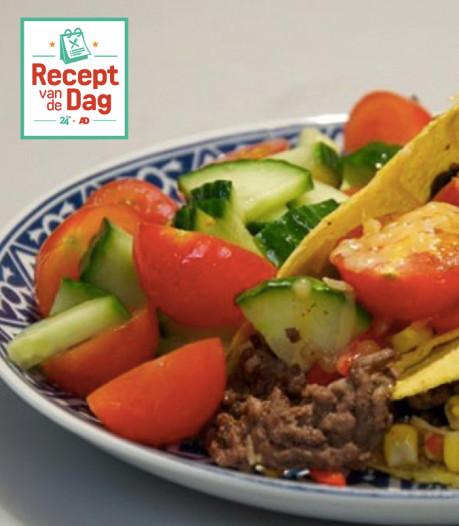 Recept van de dag: Köfte taco's met licht zoete paprikasalsa