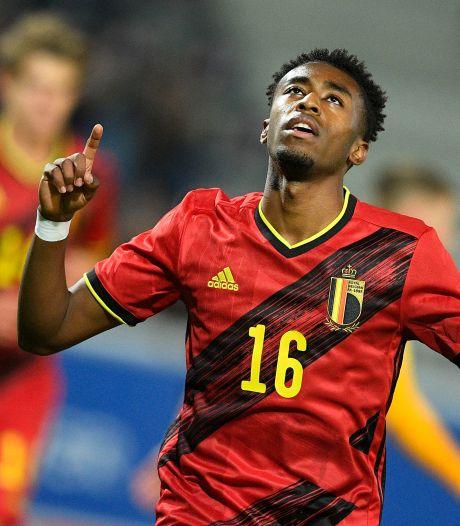 Mike Trésor is weer heel waardevol voor Jong België