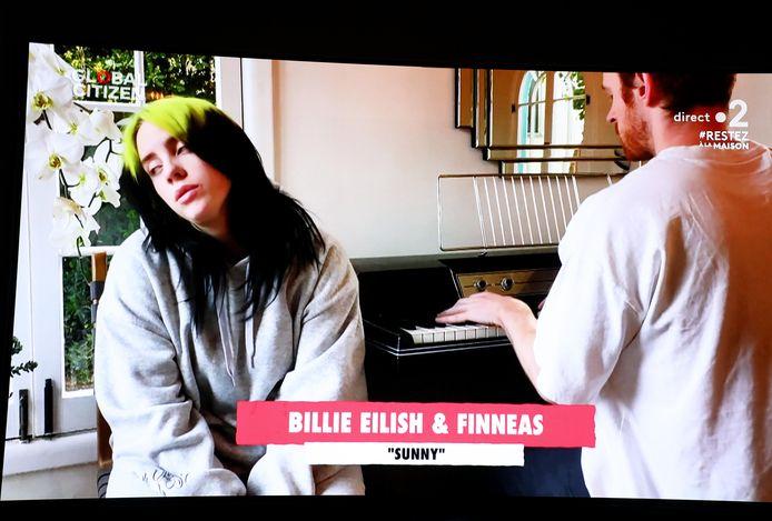 Billie Eilish et son frére Finneas O'Connell étaient de la partie