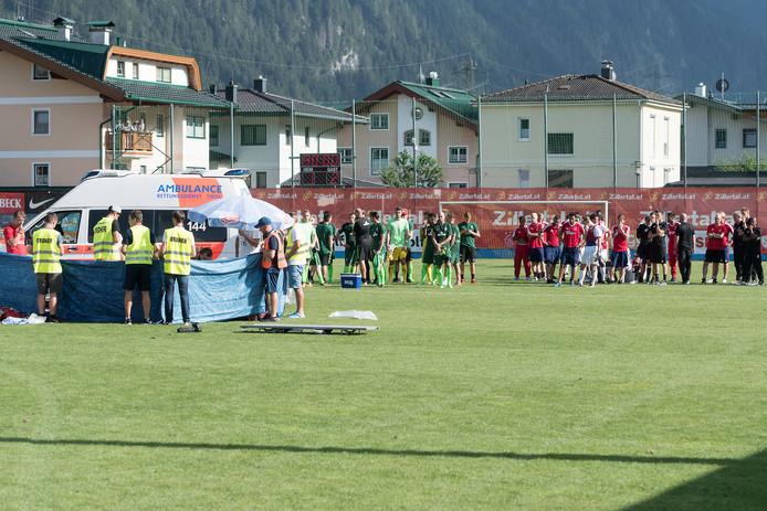 Een jaar geleden in Mayrhofen: Abdelhak Nouri is getroffen door een hartstilstand.