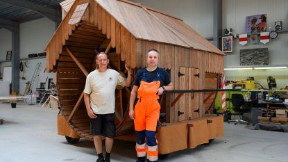 Reuzenommegang belooft weer nieuwe praalwagens: Jo Vermeir en team werken zich uit de naad om wagens Katuit klaar te krijgen