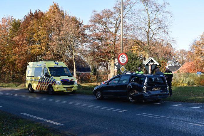De ambulance aanwezig in Langerveen