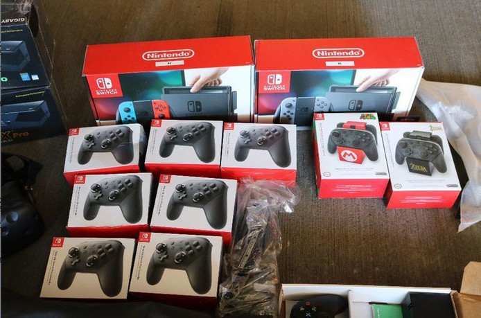 Controllers van de Switch.