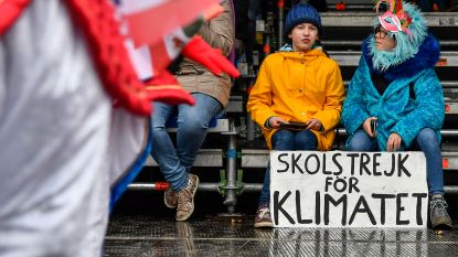IN BEELD. Spotten met Greta Thunberg, Joachim Coens en burgemeester D'Haese in stoet Carnaval Aalst