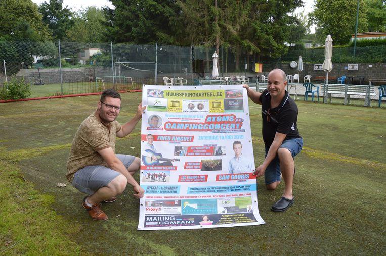 Het derde Atoms campingconcert vindt opnieuw plaats op de terreinen van camping Reamerik in Denderhoutem.