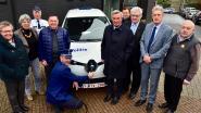Politiezone Regio Tielt kleurt niet alleen blauw maar ook groen: eerste elektrische auto is een feit