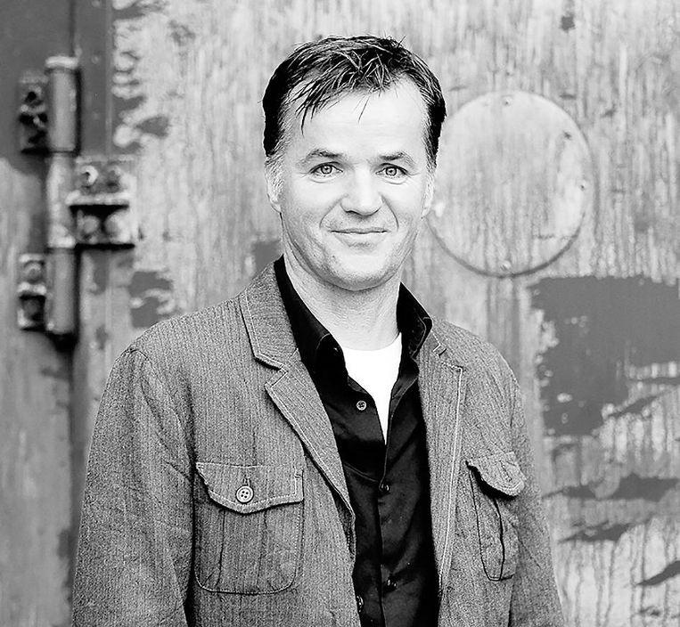 Erik Flentge, fractievoorzitter SP Amsterdam. Beeld .
