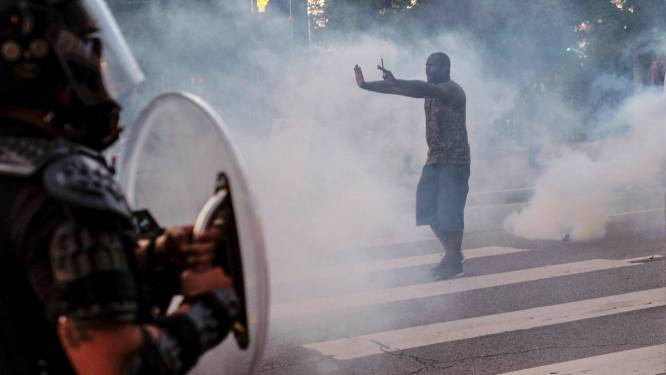 Zwarte man in Atlanta doodgeschoten na worsteling met agenten