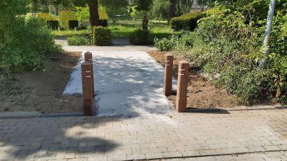 Nieuwe ingang voor het Park aan Koning Boudewijntuin