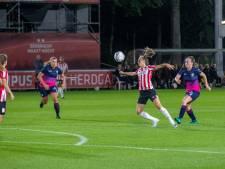 Eerste puntverlies PSV Vrouwen