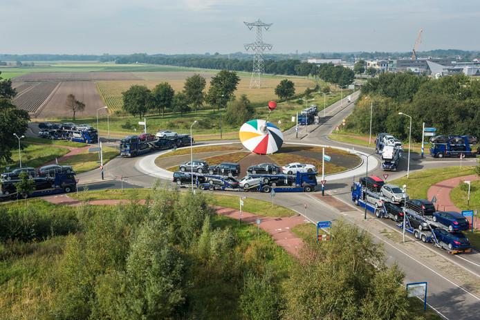 Oosterhout als logistiek middelpunt.