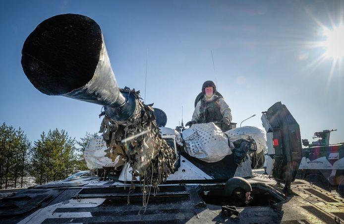 Beelden van de legeroefening 'Northern Wind' momenteel in Zweden.
