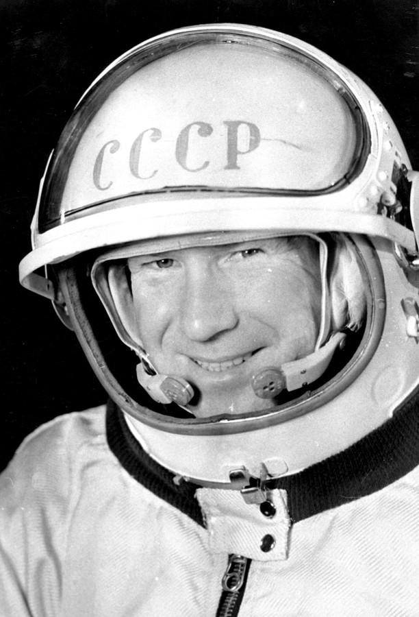 Leonov maakte in 1965 de eerste ruimtewandeling.