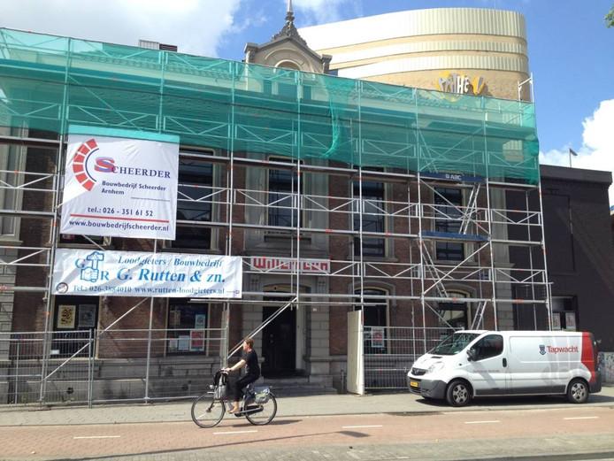Jongerencentrum Willemeen staat weer in de steigers. Foto DG