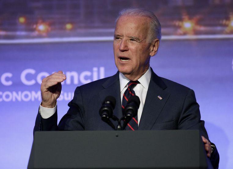 Vicepresident Joe Biden. Beeld ap