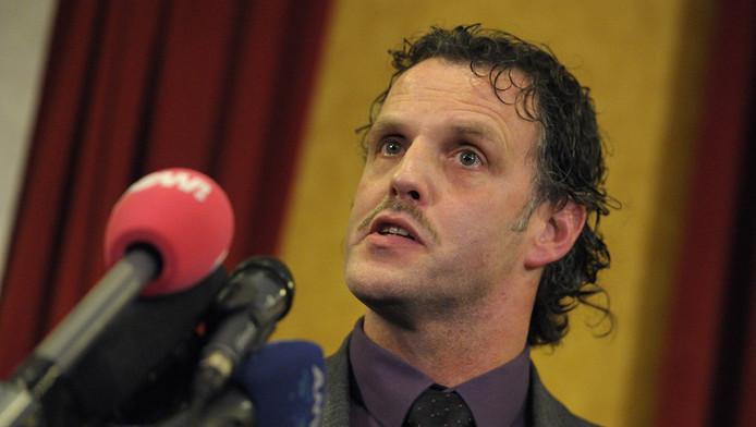 Cor Bosman, een van de Limburgse PVV'ers die zichzelf in dienst heeft genomen als fractiemedewerker. © ANP