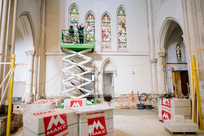De Laurentiuskerk is de afgelopen maanden hersteld en verbouwd.