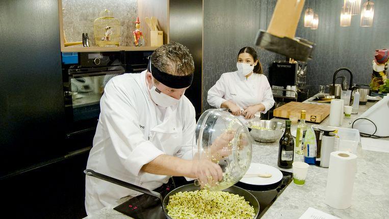 Pino & Claudia in 'Mijn Keuken Mijn Restaurant'.