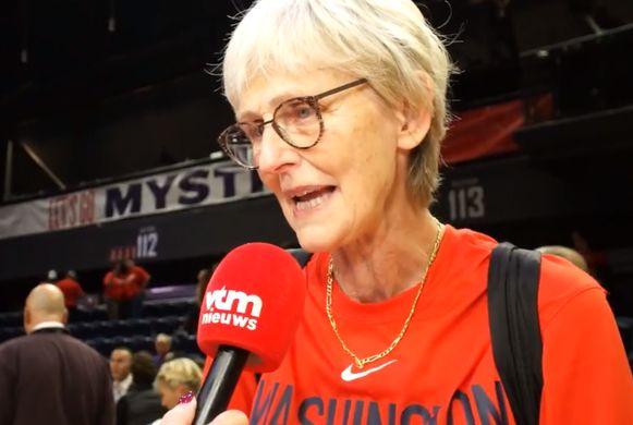 Sonja Tankrey, de mama van Emma Meesseman.