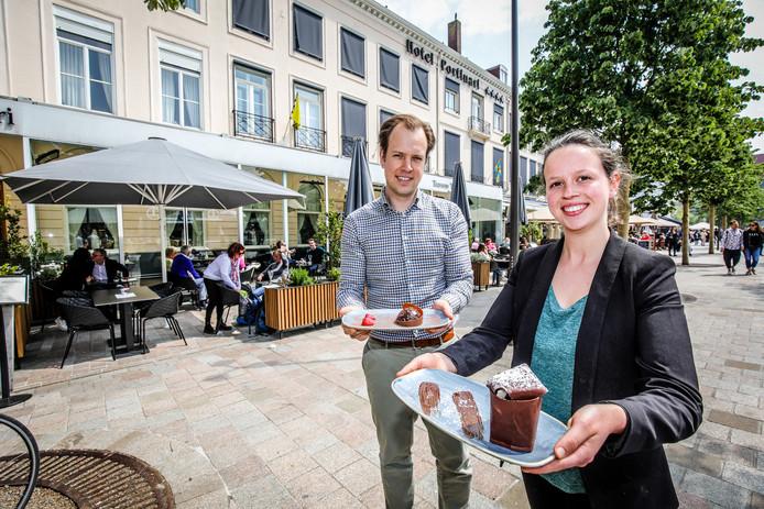 Hotel portinari en bakkerij pastry y art werken samen: Anthony Vermeersch en Yara Coudeville