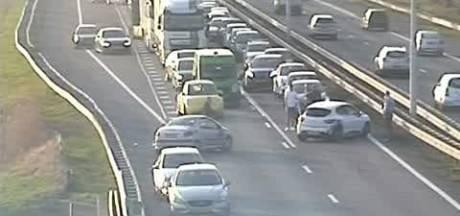 A58 naar Eindhoven tot 21.00 uur dicht na ongeval bij Moergestel
