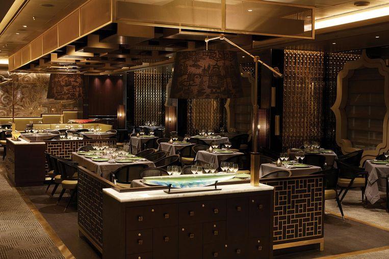 Restaurant Pacific Rim serveert de Aziatische keuken op dek 5 Beeld Stephen Beaudet