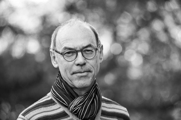 Josef Früchtl - Hoogleraar filosofie van kunst aan de UvA. Beeld -