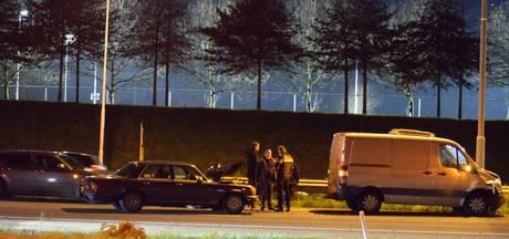 Meer dan een uur vertraging door ongeval op de A58 bij Etten-Leur